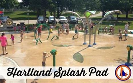 Image of Splash Pad at Nixon Park